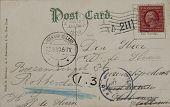 Postal vintage de 1909