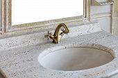 Retro Marble Sink