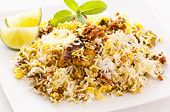 image of biryani  - Chicken biryani - JPG