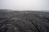 Frozen Lava. Lava Flows Of Tolbachik Volcano, Kamchatka Peninsula, Russia poster