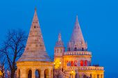 Fishermen's Bastion in Buda Castle, Budapest