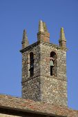 The bell tower in Monteriggioni