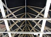 Roof Trusses Inside House