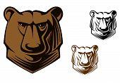 Mascota oso Kodiak