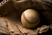 Baseball And Glove