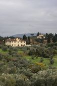Tuscany From The Boboli Gardens