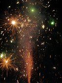 Saudação / 2009 de fogos de artifício