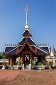 Ubosot In Wat Banden,chiangmai Thailand