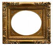 Golden Art Frame