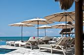 Tropical Beach Luxury Paradise