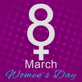 8 March - Purple and Pink Background