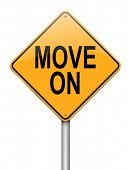 Move On Concept.