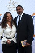 LOS ANGELES - OCT 13:  Debbie Allen, Norm Nixon at the 10th Alfred Mann Foundation Gala at Robinson-