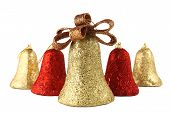 Christmas Bells Isolated