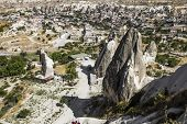 The Town Of Goreme-cappadocia, The Tourism Capital Of Turkey