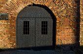 Dungeon like doors of the Roman well at Kalemegdan fortress, Belgrade