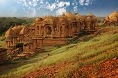 Vyas chhatri, or vyas cenotaphs , has  built by Brahmin as memoir are of 15th century full of art an