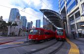 A Santa Fe Trolley Station Shot, San Diego