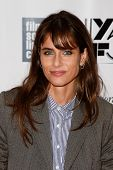 NEW YORK- OCT 8: Actress Amanda Peet attends the