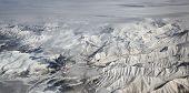 Mountain Range Of Kamchatka. Far East, Russia