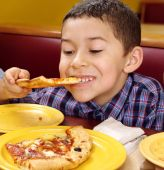 Kid e pizza