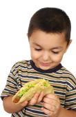 Kid With Taco
