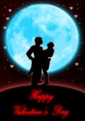Valentine Dance By The Blue Moon