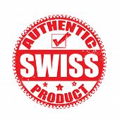 Authentic Product Swiss Stamp