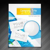 vector company brochure flyer magazine cover and poster template design