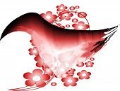 stock photo of png  - Red fantasy bird in png - JPG