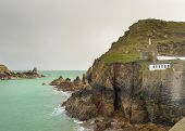 image of sark  - Coastal scene on Sark looking out over the English Channel