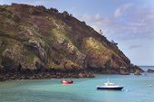 pic of sark  - Coastal scene on Sark Lighthouse Channel Island
