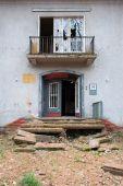 house entrance doorway