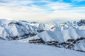 Alps Landscape In Auron, France