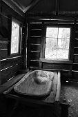 Bathtub in Hut