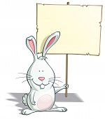 Easter Banny Placard