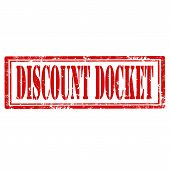 Discount Docket-stamp