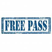 Free Pass-stamp