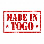 Made In Togo-stamp