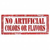 No Artificial-stamp