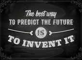 stock photo of future  - Quote Typographical Background - JPG