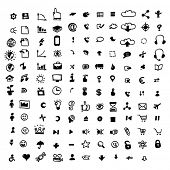 132 doodle icons
