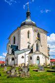 Church Of St. John Nepomuk, Zelena Hora, Czech Republic