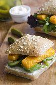 Fish Finger Sandwich