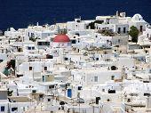 Mykonos White Houses,greece