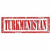 Turkmenistan-stamp