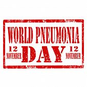 World Pneumonia Day-stamp
