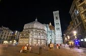 Cathedral Santa Maria Del Fiore Florence At Night