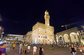The Palazzo Vecchio Romanesque Fortress Palace