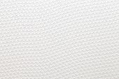 Close - up White pvc plastic pattern texture and background